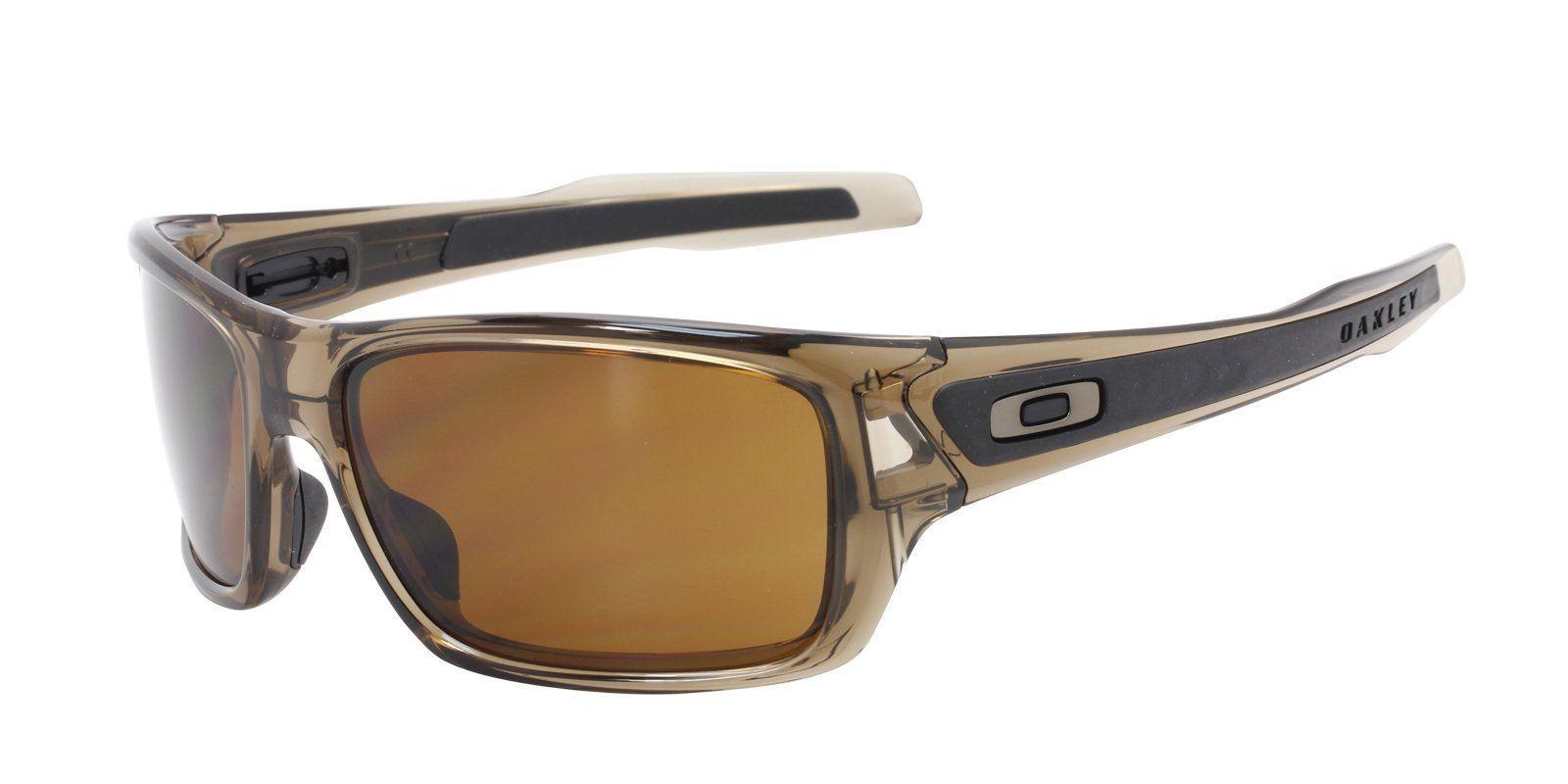 Oakley OO9263 Brown Rectangular Men Sunglasses 63mm