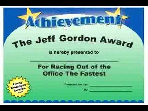 17 Best images about Funny certificate ideas on Pinterest | Award ...