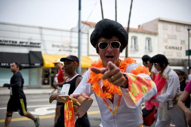 Elvis @ LA Marathon 2010