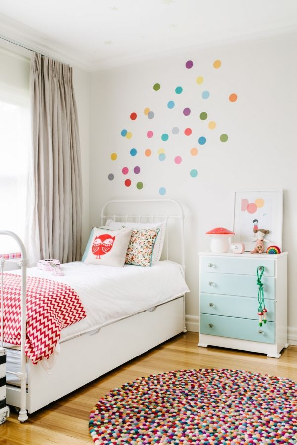Decorar Paredes Infantiles Little Rooms Pinterest Bedroom - Decoracin-paredes-infantiles