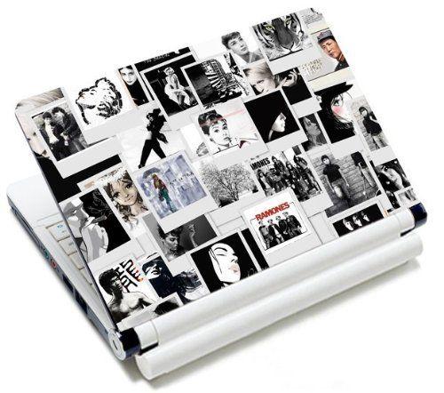 """MySleeveDesign - Skin Pegatina decorativa adhesivo protector para la tapa de ordenadores portátiles 10,2"""" / 11,6"""" - 12,1"""" / 13,3"""" / 14"""" / 15,6"""" - VARIOS DISEÑOS Y COLORES"""