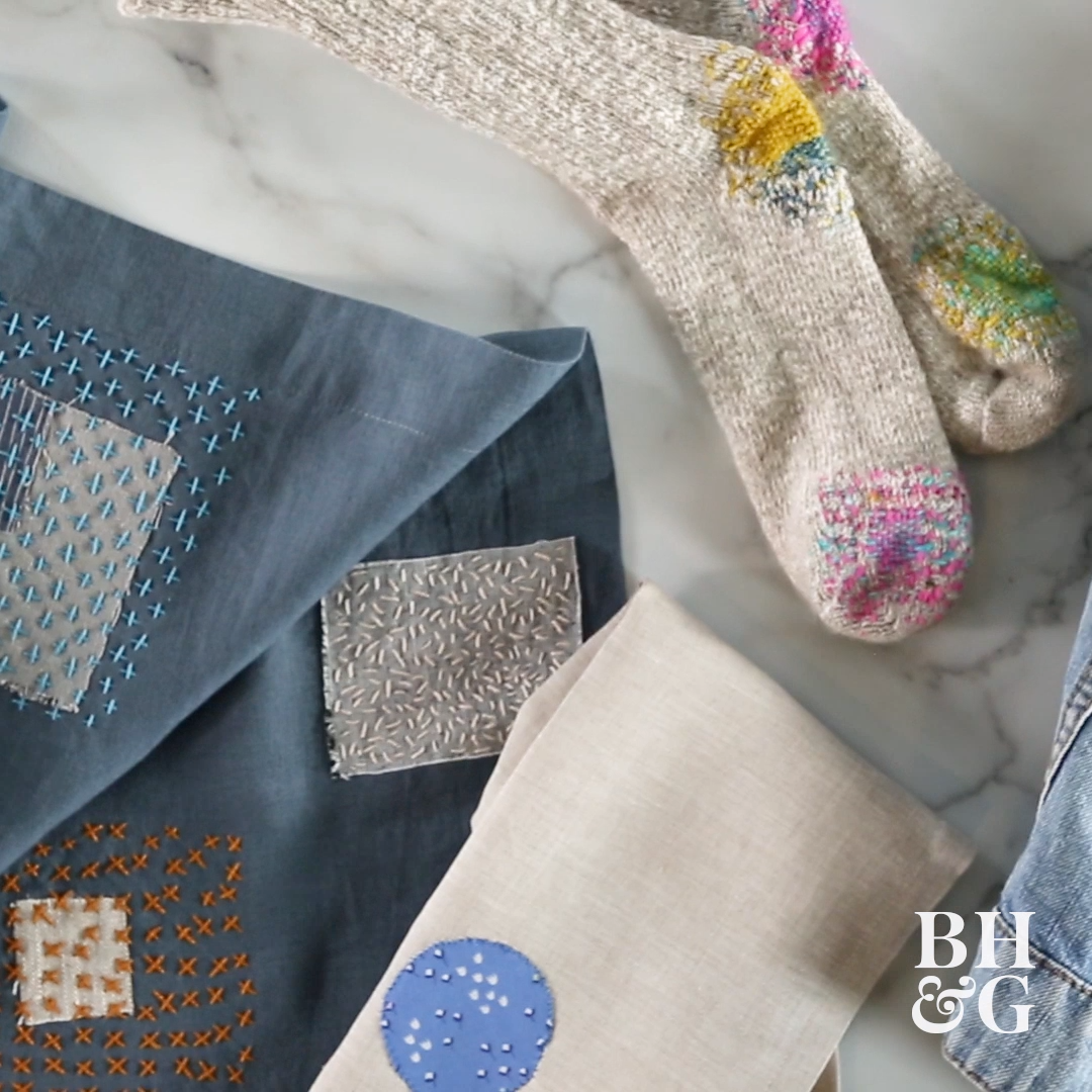Photo of Visible Mending Video Tutorial