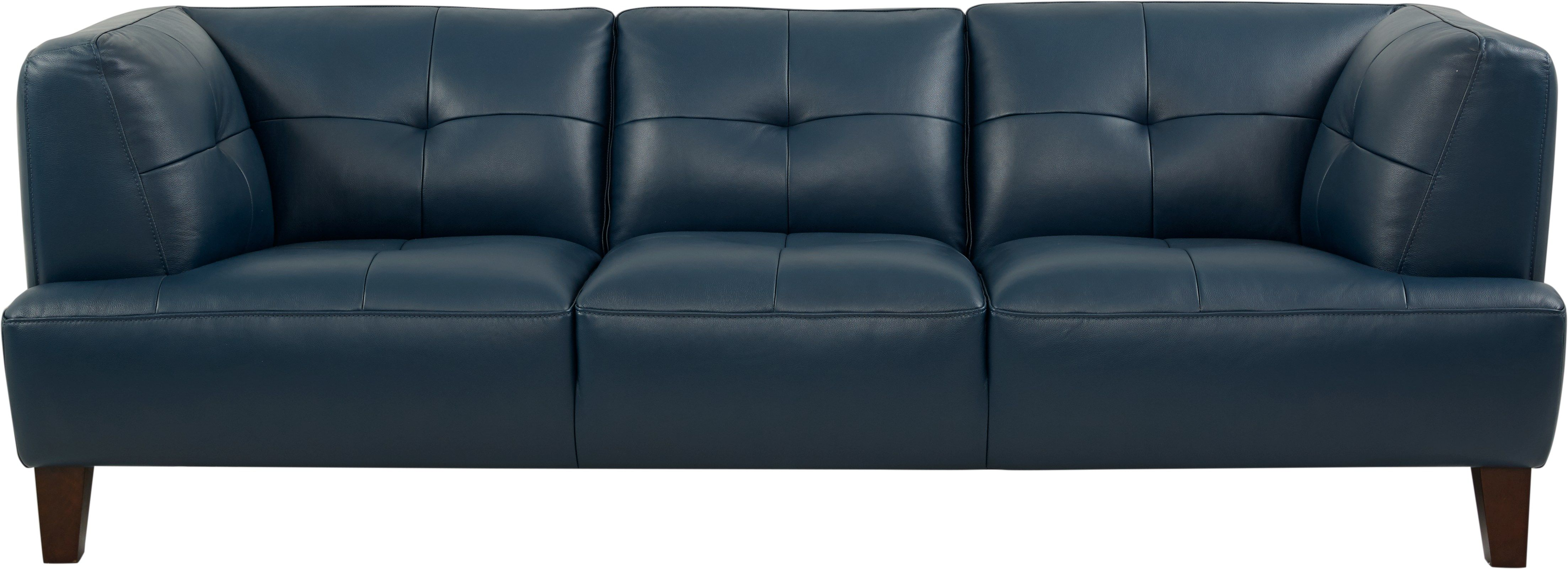 Enjoyable Villa Capri Blue Leather Sofa Rtg Uphostery In 2019 Blue Gmtry Best Dining Table And Chair Ideas Images Gmtryco