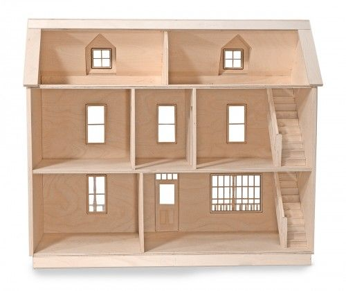 Plans for a wooden doll house