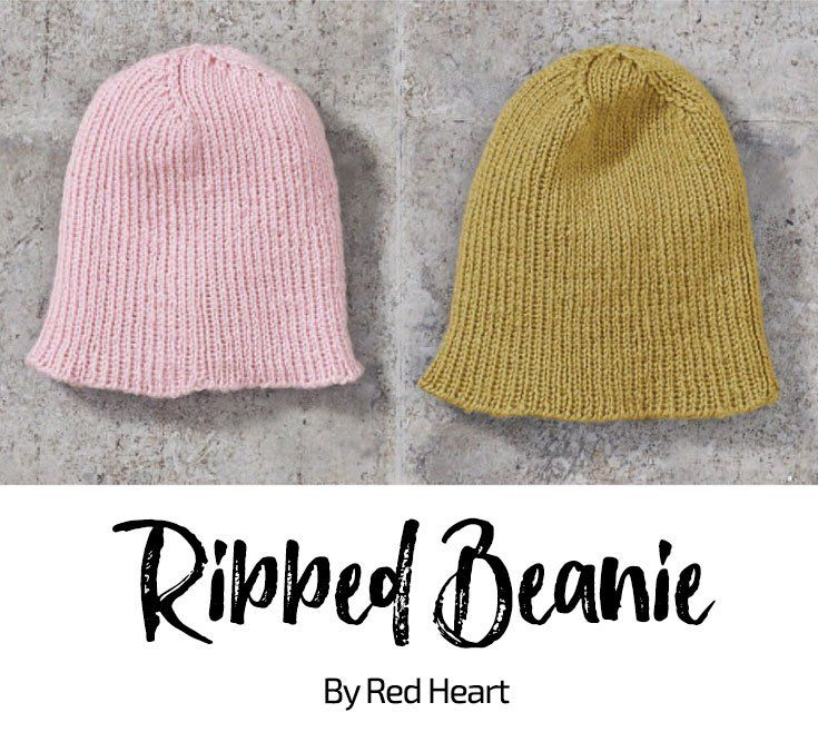 Ribbed Beanie free knit pattern in Cleckheaton Superfine Australian ...