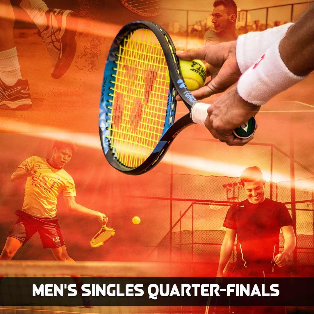 Men's Singles QuarterFinals Sports channel, Fox sports