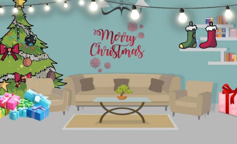 Gacha Background Living Room Decored For Christmas Gacha Backgrounds Living Room Props Art Home Decor Living room background with christmas