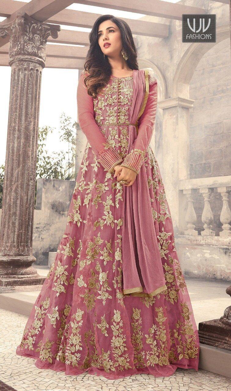 Wedding dress suit  Wedding Anarkali in   Costumes  Pinterest  Anarkali suits