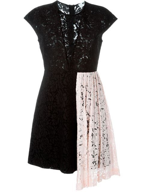 14968c9ad85d MSGM Contrasted Panel Lace Dress.  msgm  cloth  dress