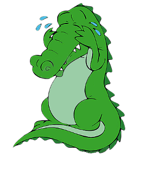 Krokodillentranen huilen. Verdriet veinzen. Doen alsof je verdriet hebt. |  Figuurlijke taal, Taal, Gezegden