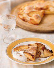 Thin Pear Tart
