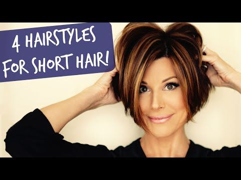 4 Easy Short Hairstyles That Will Make You Want A Bob Short Hair Styles Easy Hair Styles Short Hair Styles