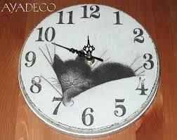 Znalezione obrazy dla zapytania decoupage czarny kot