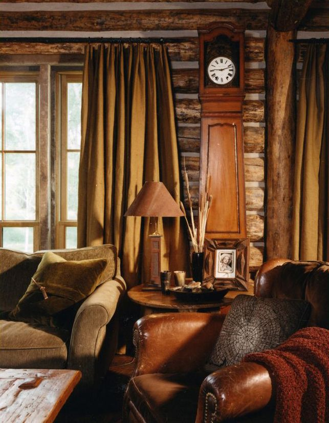 Marvelous Peace Design Rustic Family Room