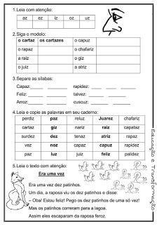 Blog Educacao E Transformacao Reforco De Portugues Para O 1 E