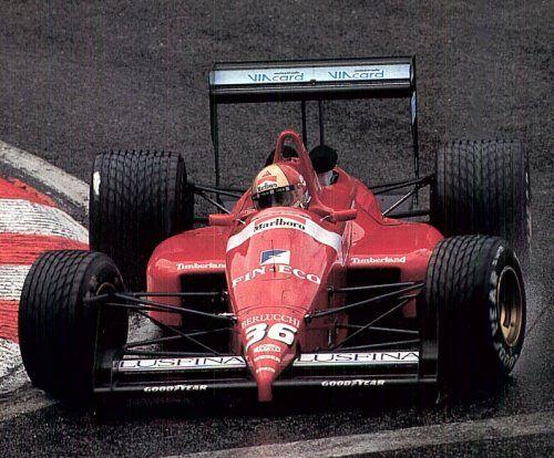 1988 Dallara F188 - Ford (Alex Caffi)