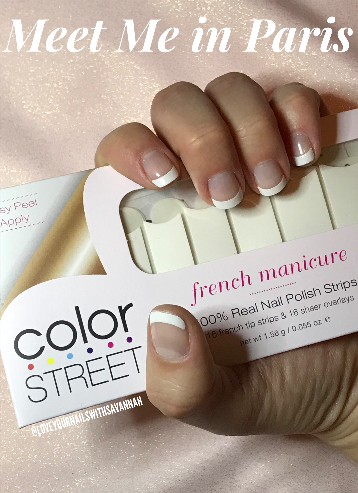 French Color Street manicure #frenchmanicure #colorstreet #nails ...