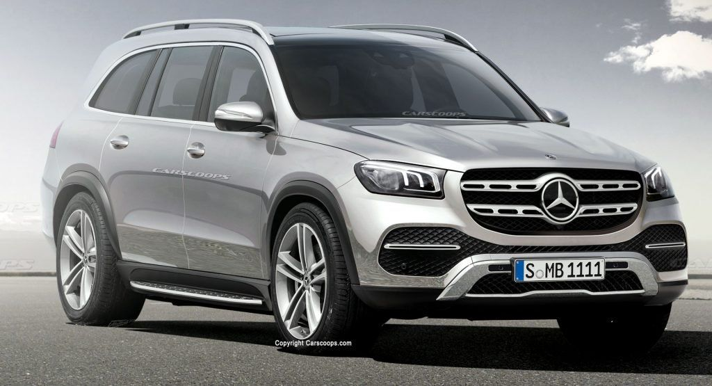 Mercedes Benz Gls Class Leaks Ahead Of Official Debut With Images