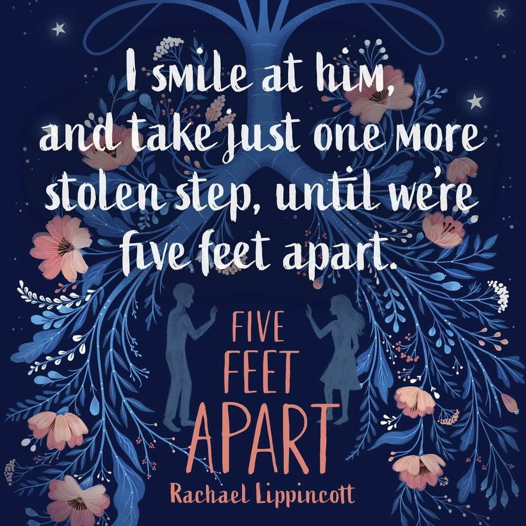 Five Feet Apart Kitap: Fall In Love With Stella And Will Before You See