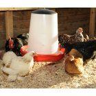Daisy Galvanised Chick Feeder   Buy 1 kg Feeder & 1 litre Drinker Set 1 kg Feeder & 1 litre Drinker Set