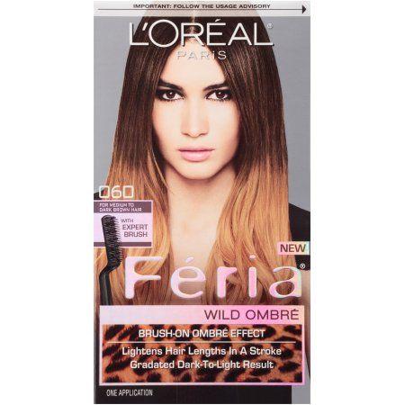 L\'Oreal Feria Hair Color, Medium to Dark Brown | Feria hair color ...