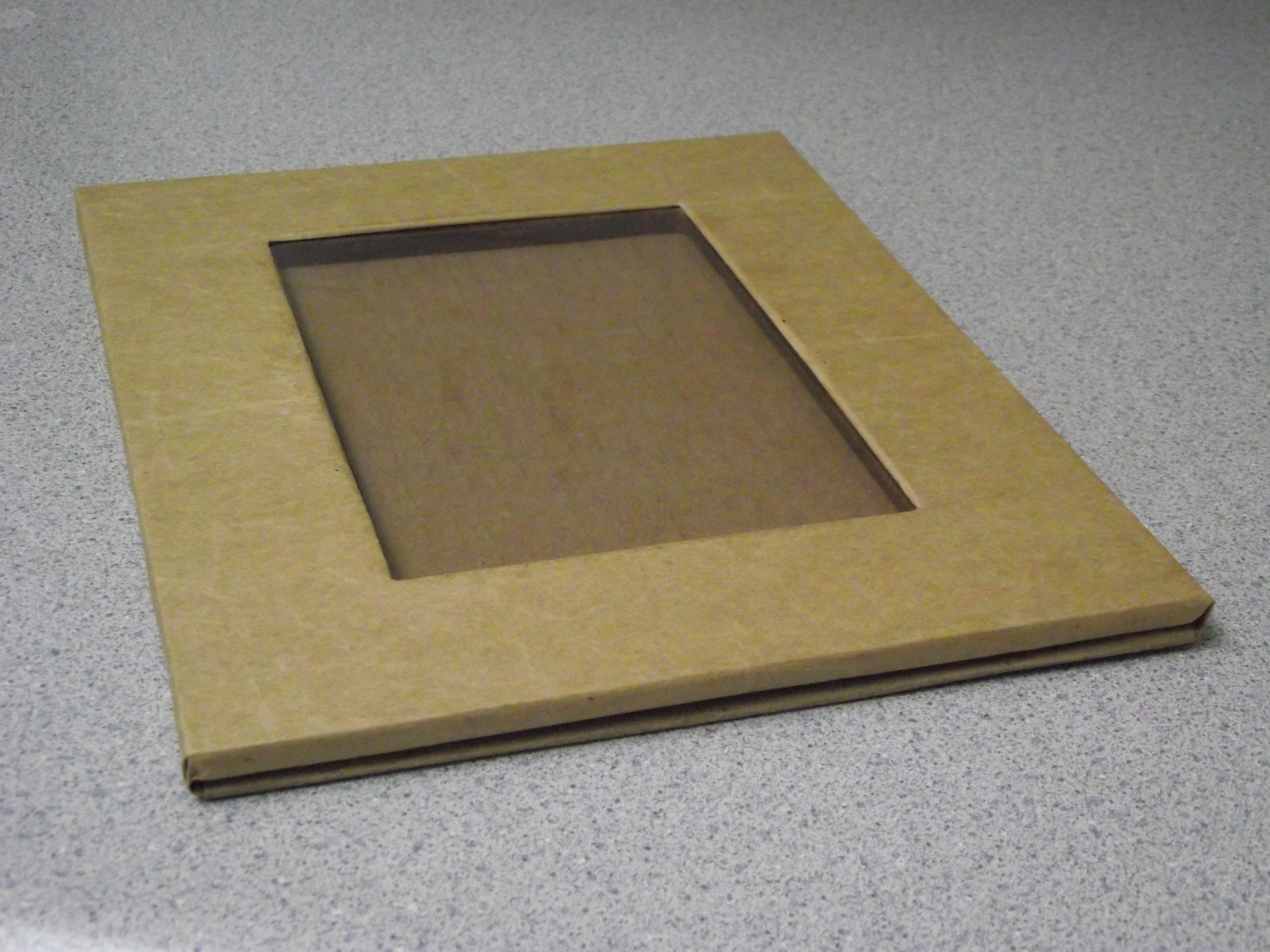 CARDBOARD PICTURE FRAMES | Cartón, Marcos y Cajas