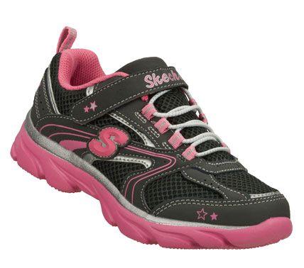 SKECHERS Girls' Lite Waves - Skybeam Athletic Sneakers