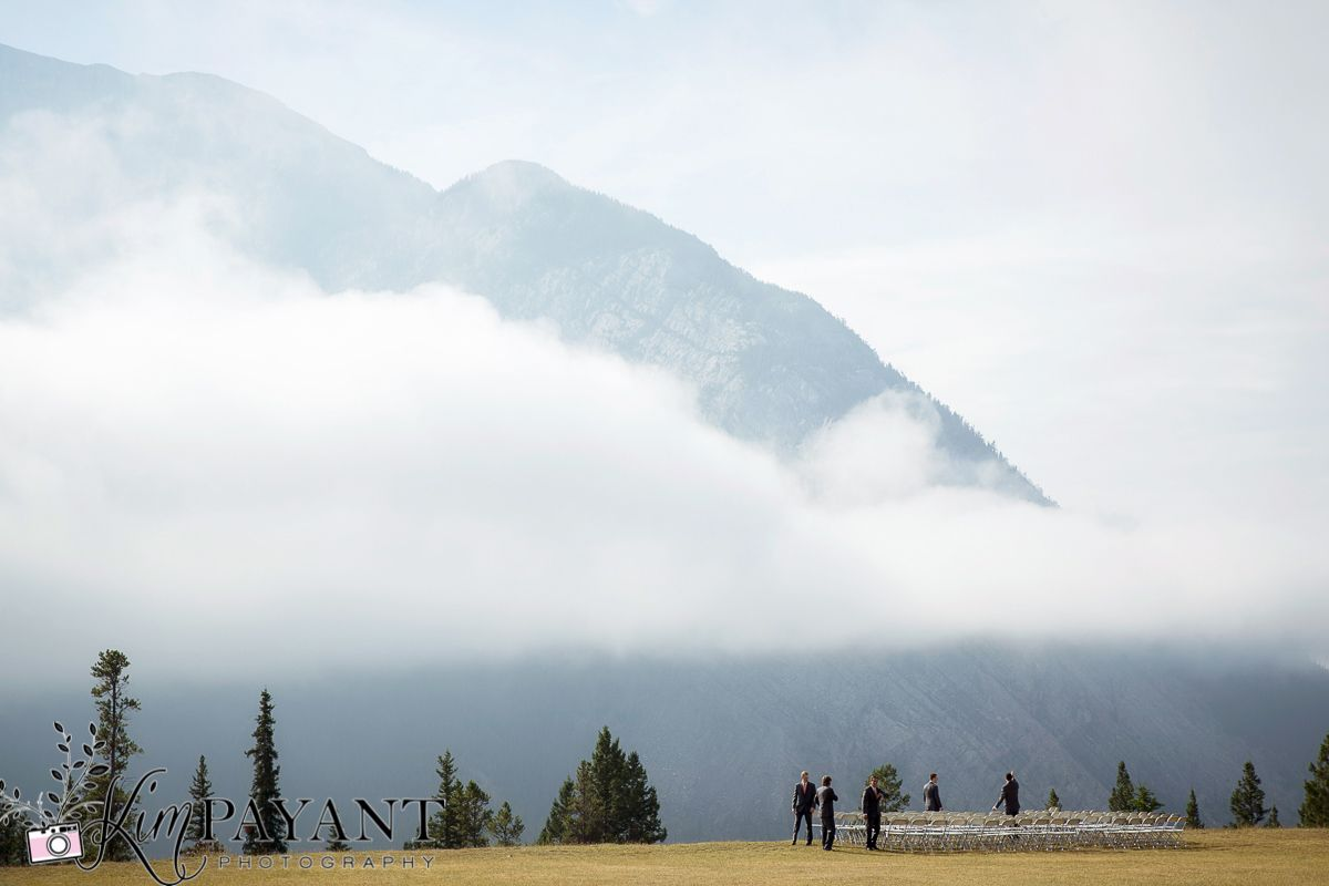 Banff Canmore Lake Louise Calgary Rocky Mountain Wedding: Tunnel Mountain Meadow -- Kim Payant Photography