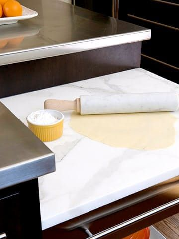 Big Impact (Low Budget) Ways to Enjoy a Touch of Real Marble in the Kitchen