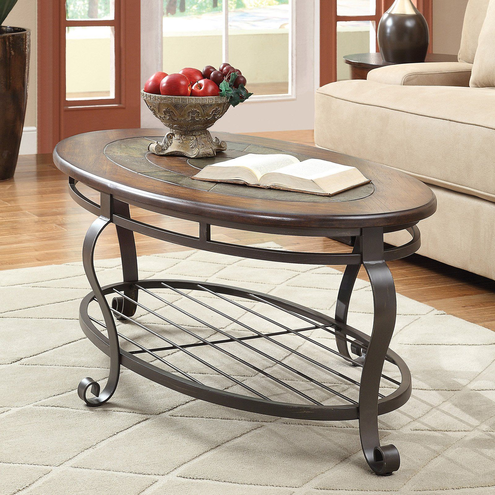 Riverside Eastview Oval Cocktail Table Tuscan Sun From Hayneedle Com Coffee Table Riverside Furniture Furniture [ 1600 x 1600 Pixel ]