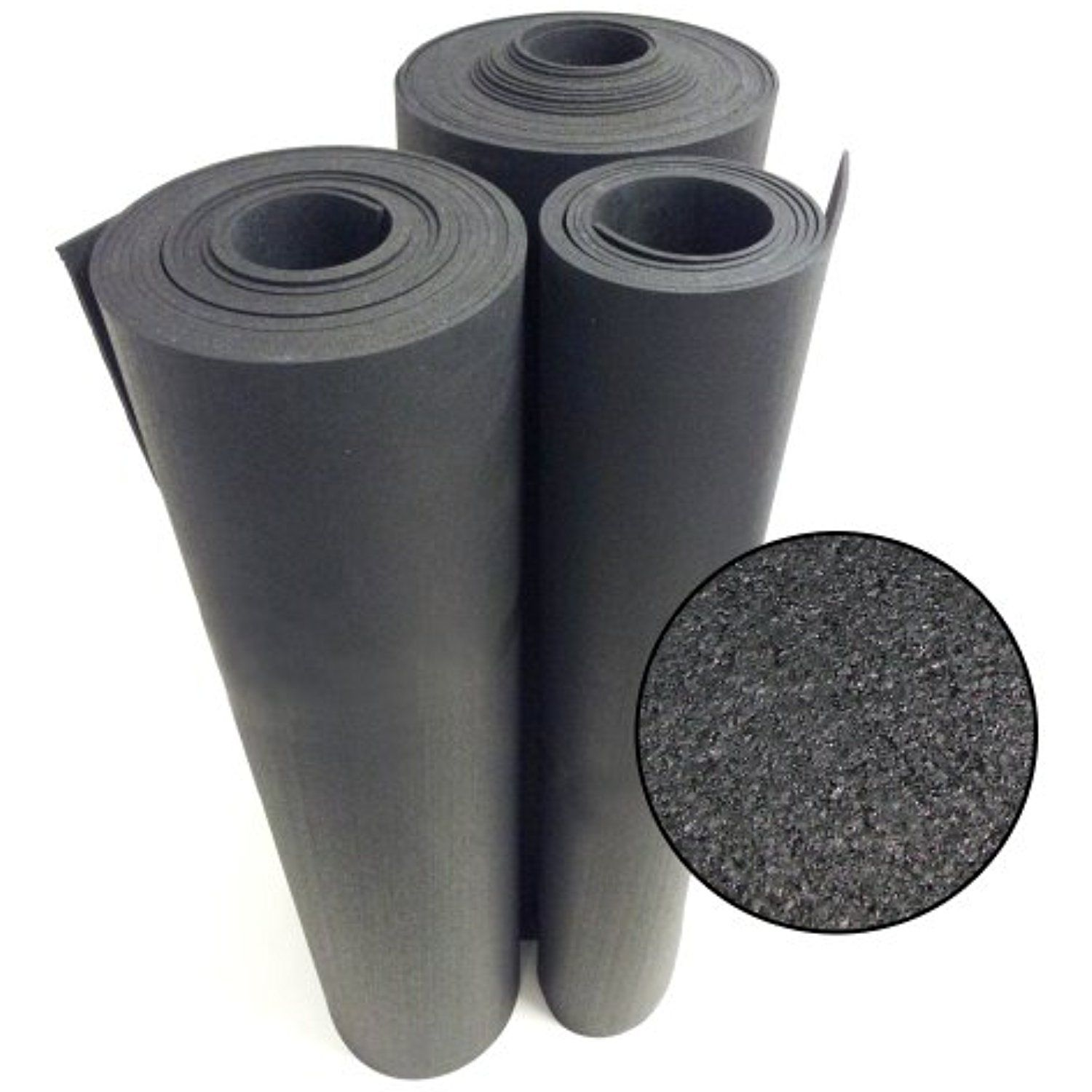 Rubber Cal Recycled Rubber Flooring 3 8 X 4ft X 2ft Rolls Black Rubber Floor Mat You Can Ge Rubber Flooring Rolled Rubber Flooring Rubber Floor Mats
