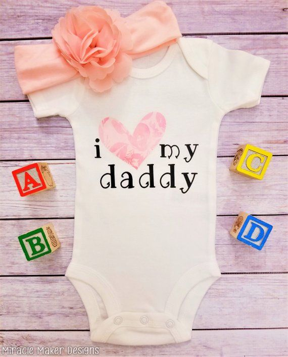 20e87ecafb48 I Love My Daddy Bodysuit