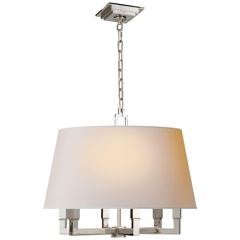 Square Tube Hanging Shade Hanging lamp shade, Floor lamp