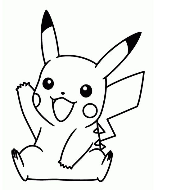 Cute Baby Pokemon Coloring Pages Pikachu Coloring Page Pokemon Coloring Pages Pokemon Coloring