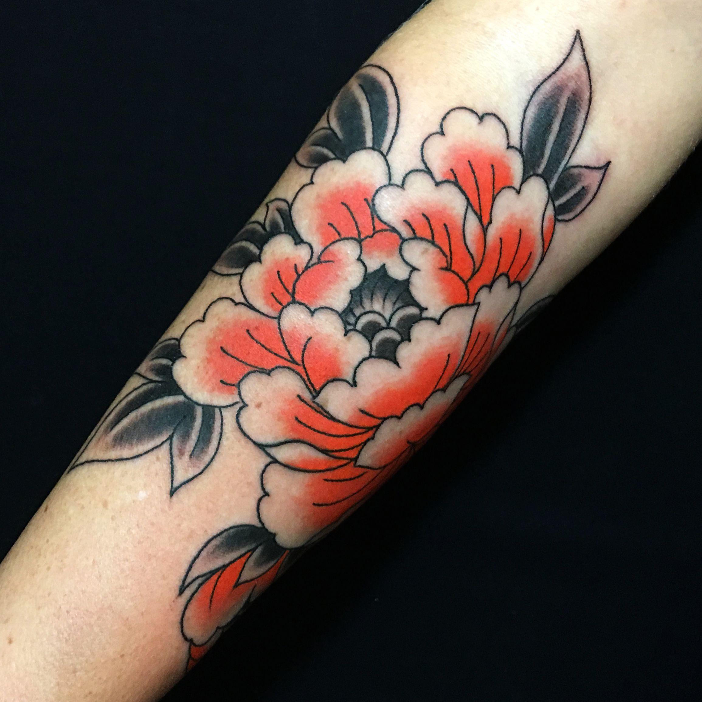 Peony - Japanese tattoo by Caio Piñeiro | tattoos | Pinterest ...