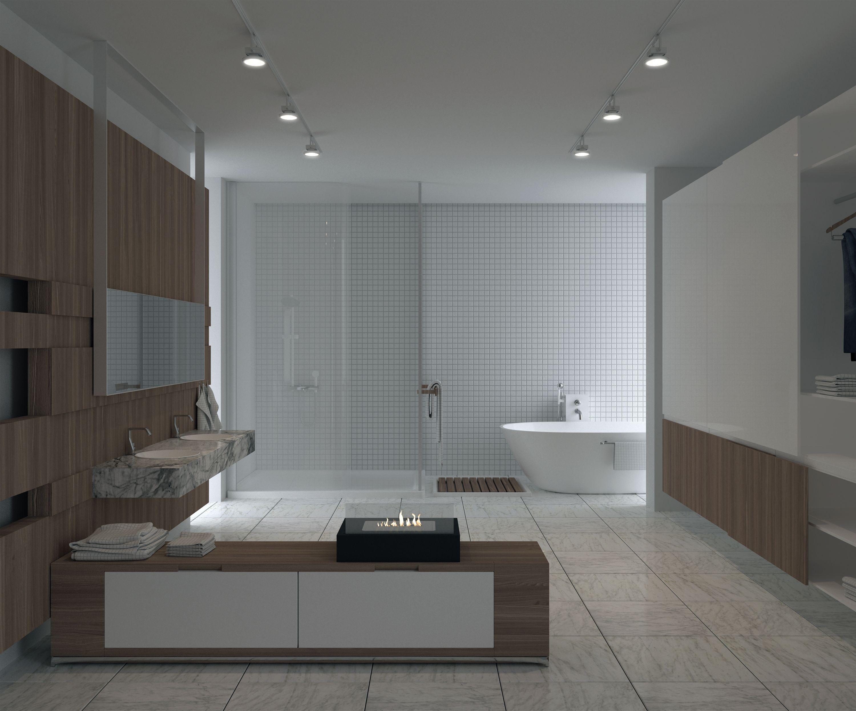 Vintage badezimmer design igasse koju glammfire biokamin retro  privileeg  Äripäeva lugejale