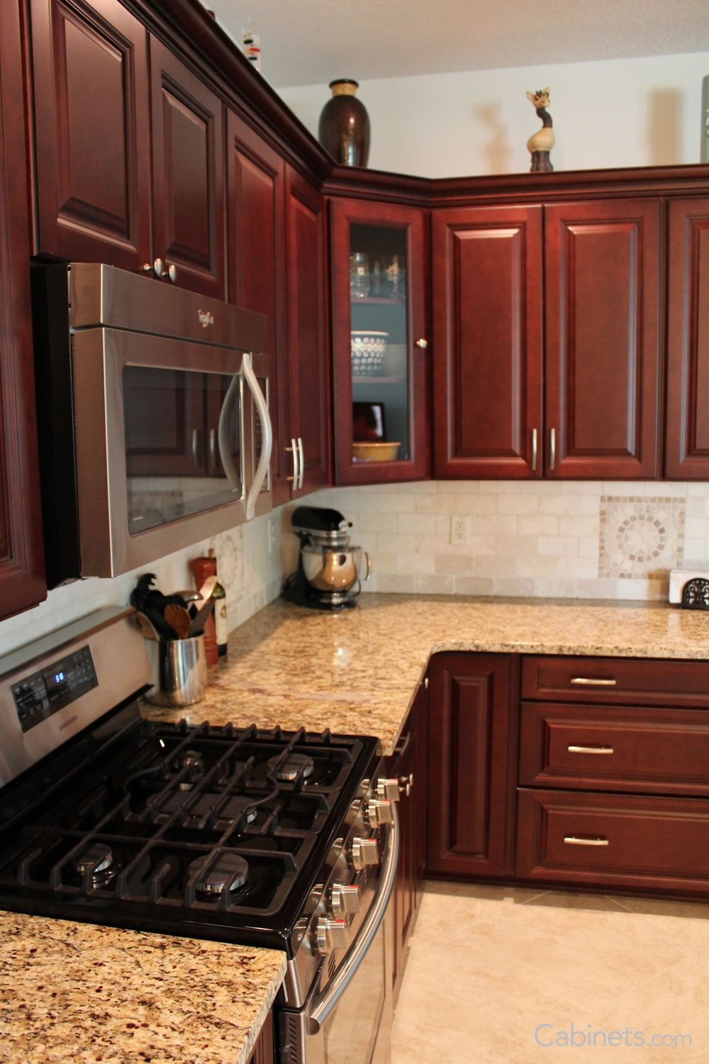 Http Www Cabinets Com Gallery Cherry Cabinets Kitchen Kitchen Cabinets Kitchen