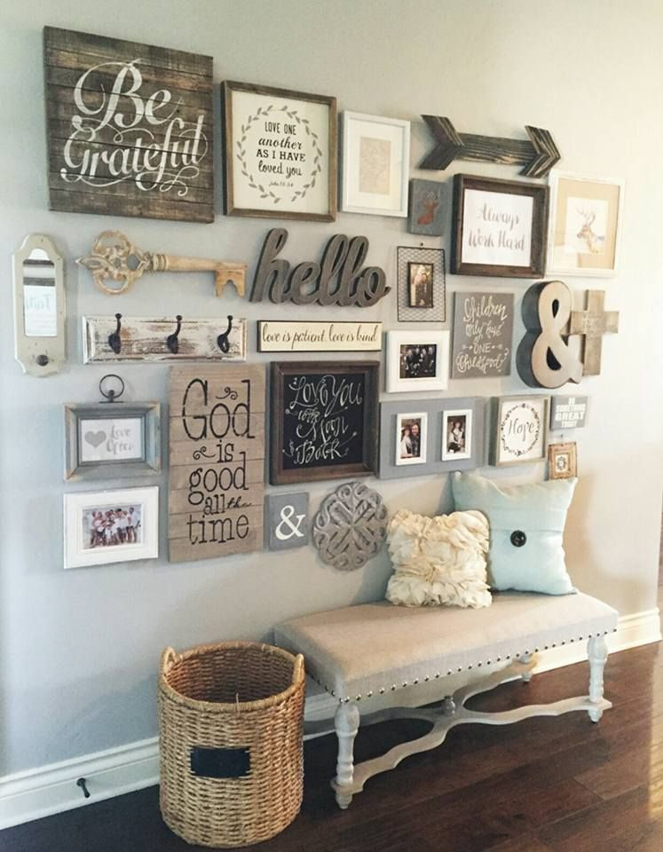 Image may contain: indoor | DIY Wall Decor | Pinterest | Apartment ...