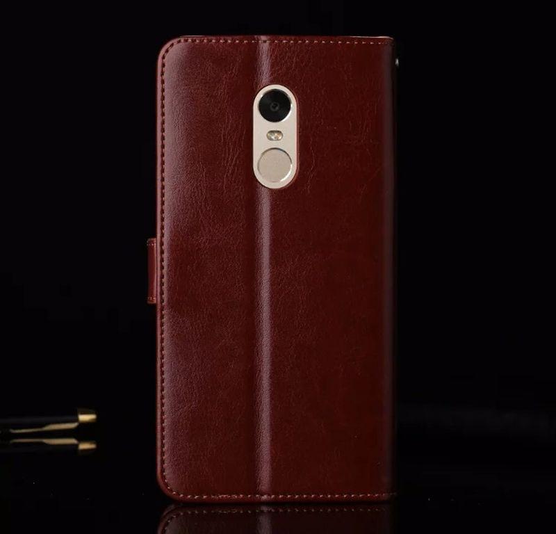 newest 576d7 c6186 ดราคา %% ตอรอง Original Xiaomi Redmi NOTE 4 Case Flip Wallet Genuine ...