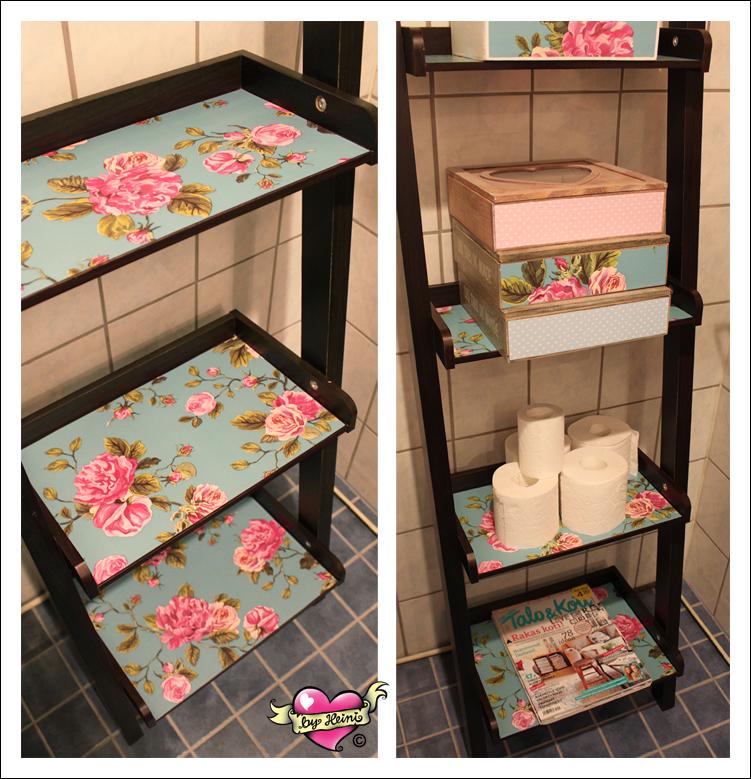 Handmade by Heini: WC:n piristystä pienellä budjetilla