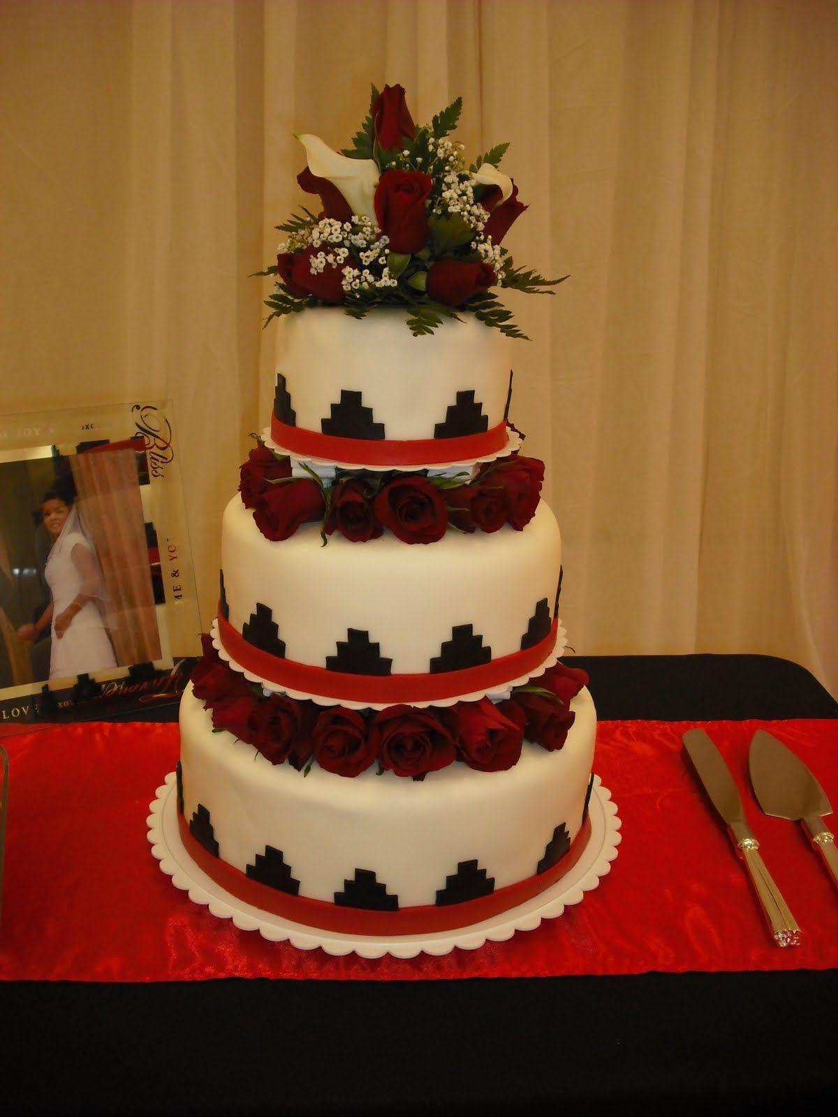navajo wedding rings Sprinklebelle Navajo Basket Weave Wedding Cake Very pretty