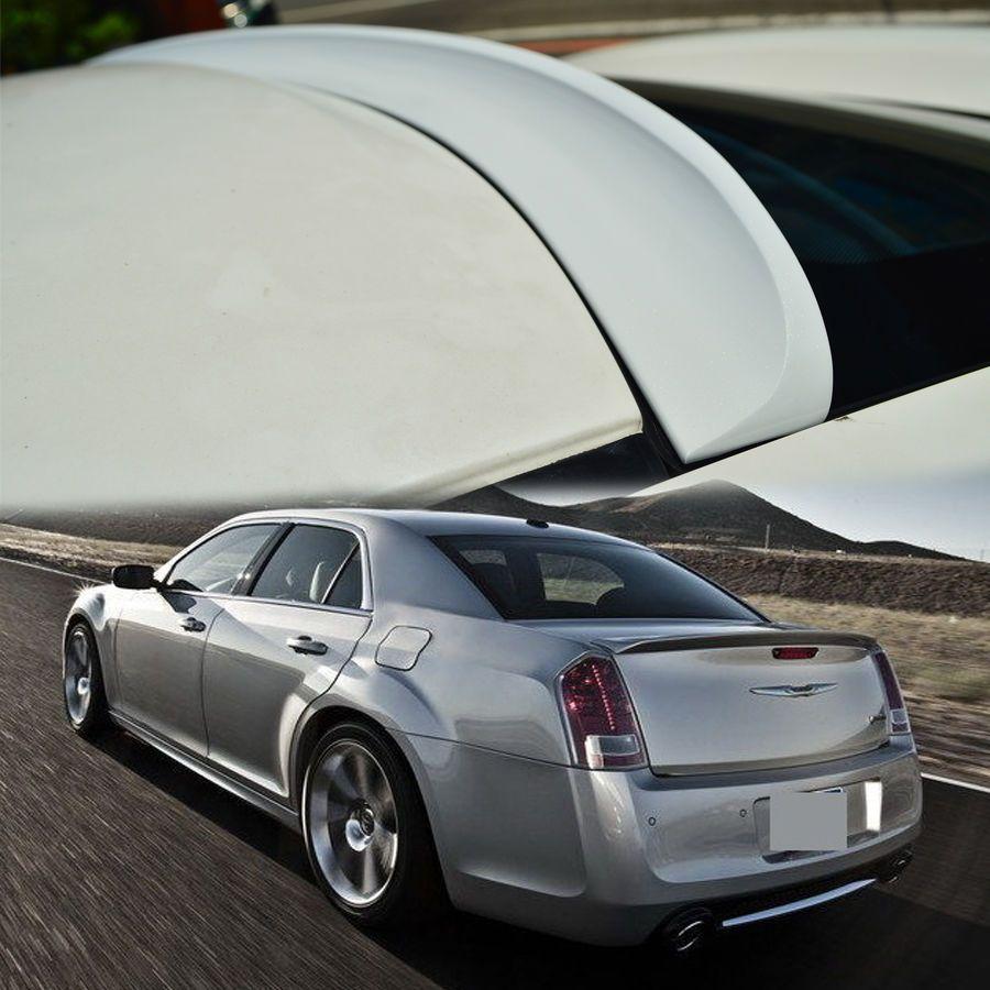 Color painted for chrysler 300 300c rear roof window spoiler sedan k ...