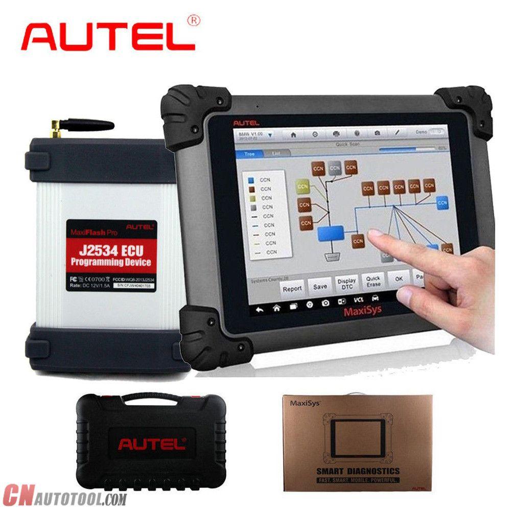 Autel MaxiSys Pro MS908P Diagnostic Tool Support Online ECU