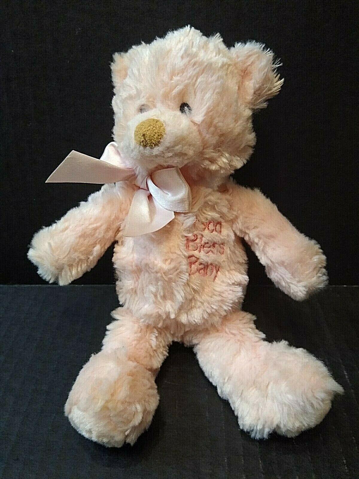 Baby Gund Plush Teddy Bear God Bless Tiny Faith Stuffed Animal Teddy Bear Plush Plush Stuffed Animals Vintage Plush [ 1600 x 1200 Pixel ]