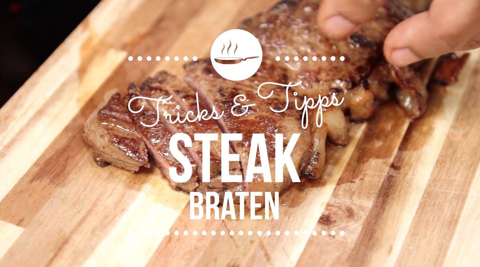 Steak richtig braten I Kochschule I FOODBOOM