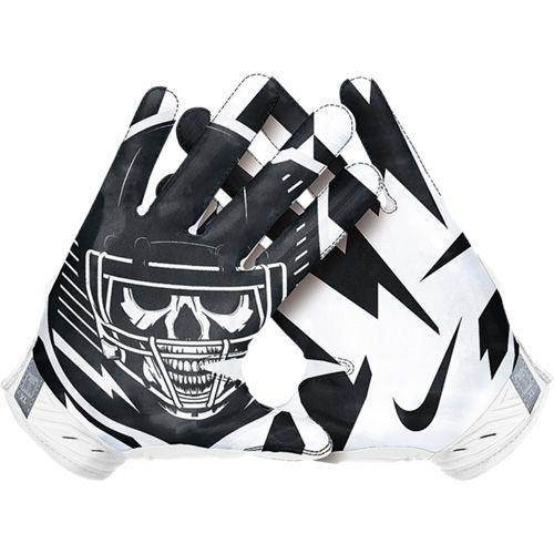Nike 2015 Superbad 3.0 Men's Receiver Gloves - White