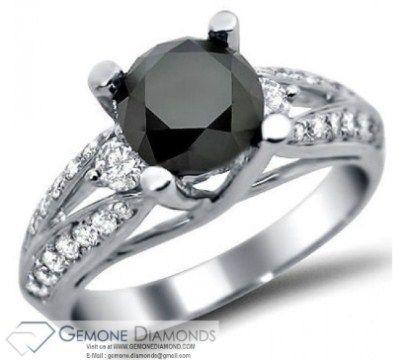 Material White Gold 18k 14k 10k Diamond Color Black Blue Yellow Green Pi Round Diamond Engagement Rings Black Diamond Ring Engagement Diamond Earrings Online