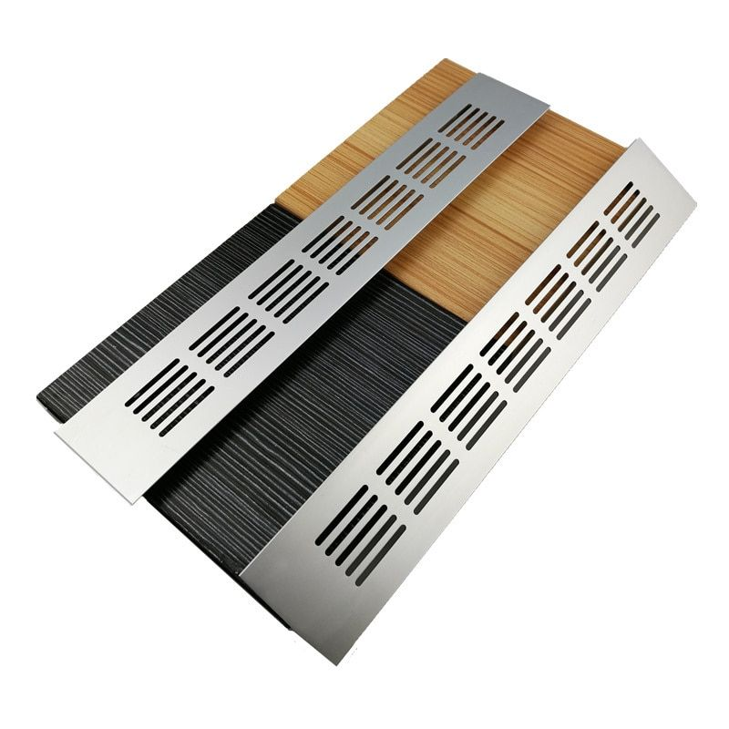 15cm 60cm Aluminum Alloy Air Vent Perforated Sheet Web Plate Ventilation Grille For Closet Shoe Cupboard Decorat Decorative Cover Aluminium Alloy Shoe Cupboard
