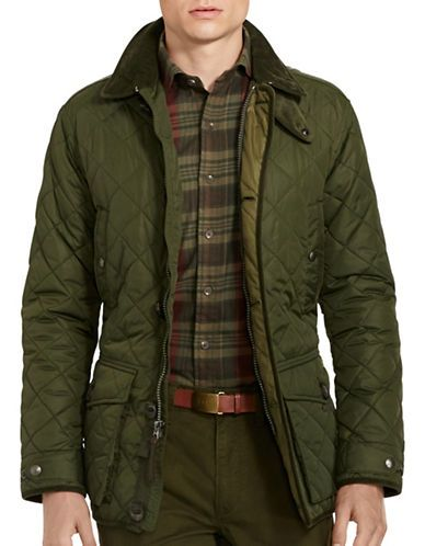 cbaff4998f72 Polo Ralph Lauren Diamond Quilted Jacket Men s Green Medium ...