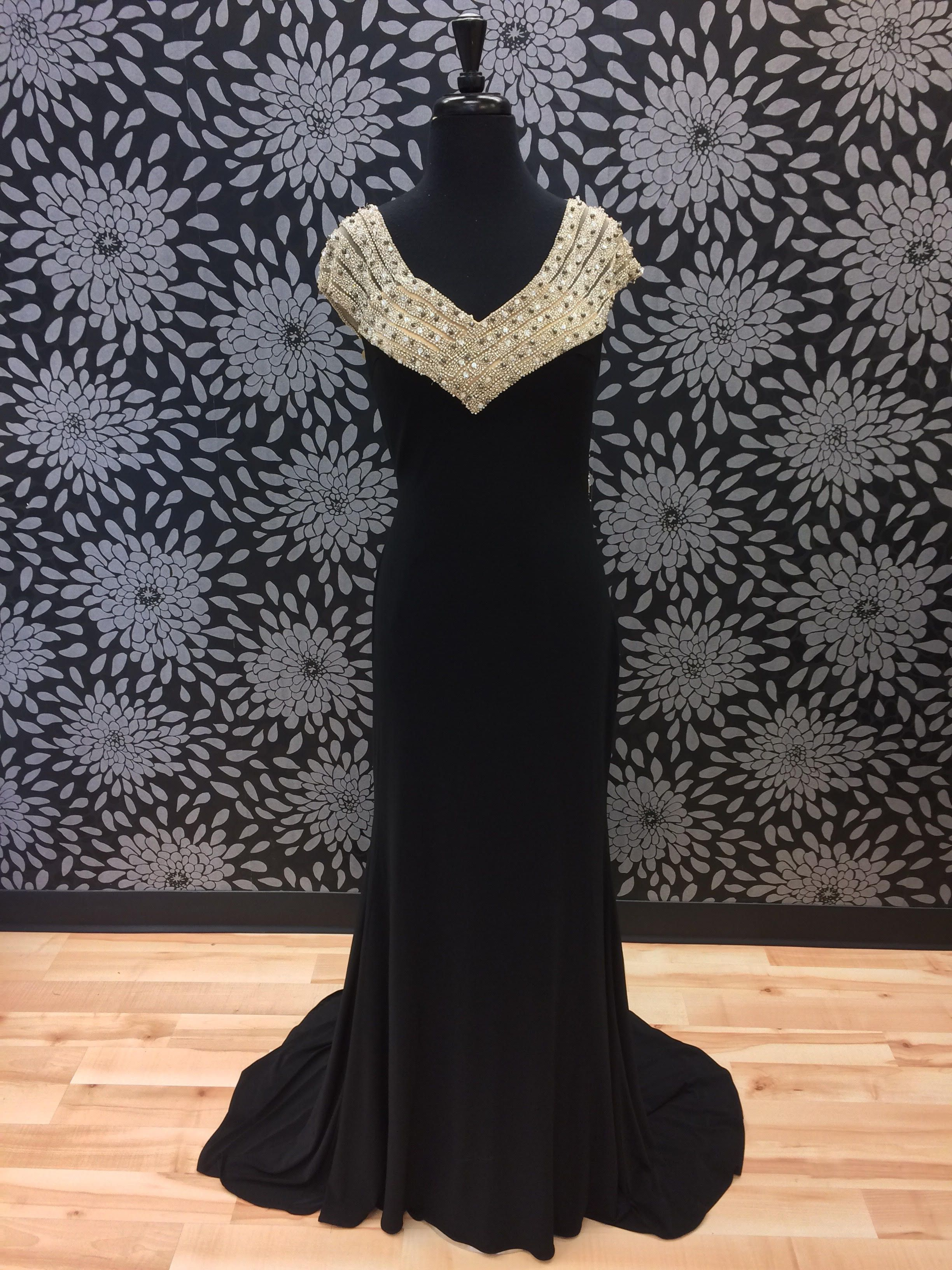 Black and gold prom dress products pinterest gold prom dresses